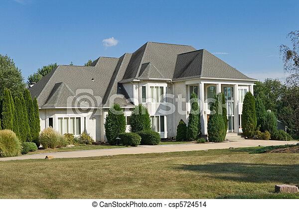 Photo de style famille pennsylvanie suburbain philadelphie csp5724514 - Maison style francaise ...