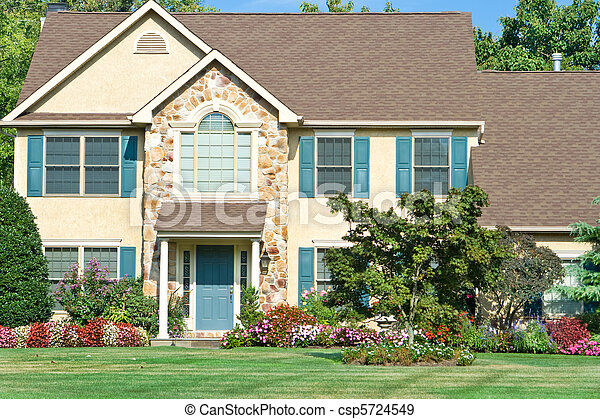 Landscaped Family Home Suburban Philadelphia PA