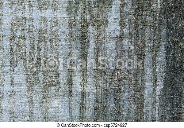 Full Frame Black Water Stains on a Grungy Cement Wall