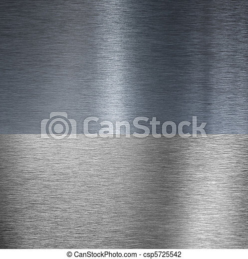 Very sharp brushed aluminum texture - csp5725542