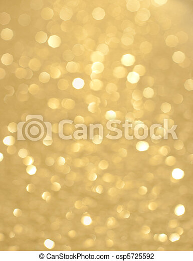 Abstract background of holiday glittering lights - csp5725592