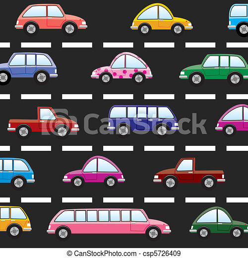cars on the road - csp5726409