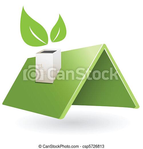 green roof - csp5726813