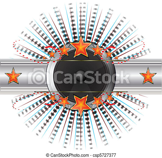 Abstract Disco background - csp5727377