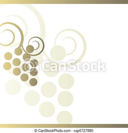 Wine card - csp5727880
