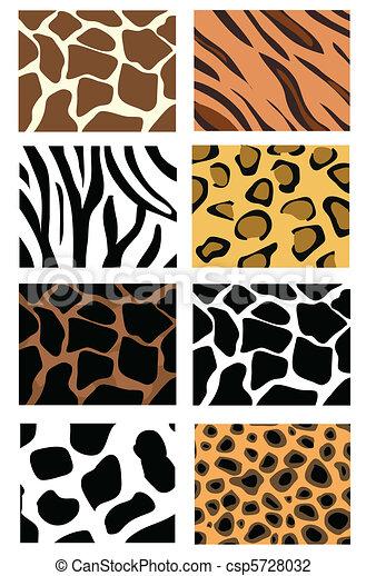 animal skin textures - csp5728032
