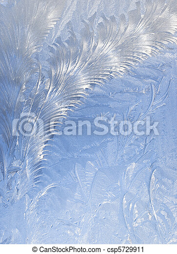 Abstract window frost background - csp5729911