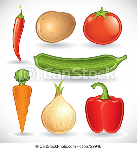 Mixed vegetables set 1 - csp5729946