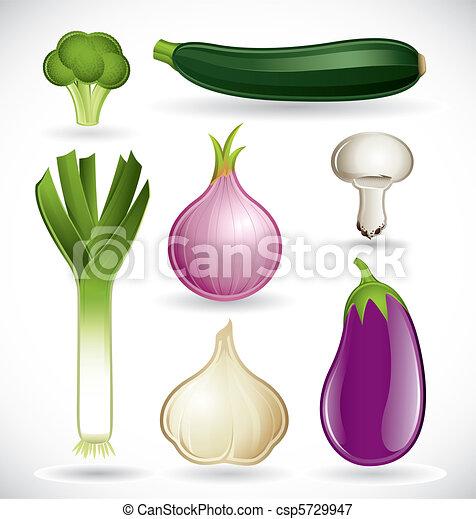 Mixed vegetables set 2 - csp5729947