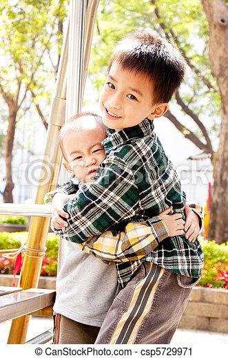 Hug brother - csp5729971