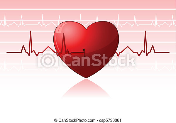 Heart Beats - csp5730861