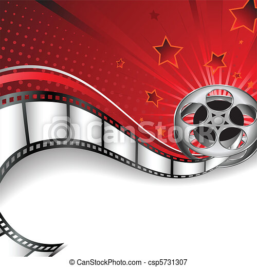 Background with Cinema Motives - csp5731307
