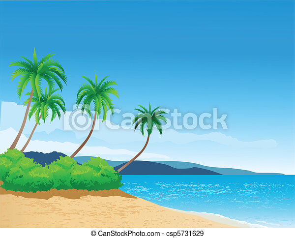 Beach Backgrounds Clipart