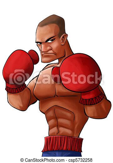 angry pugilist - csp5732258