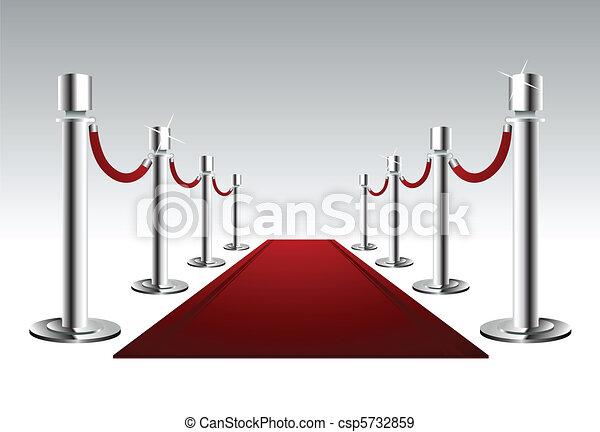 Luxury Red Carpet - csp5732859