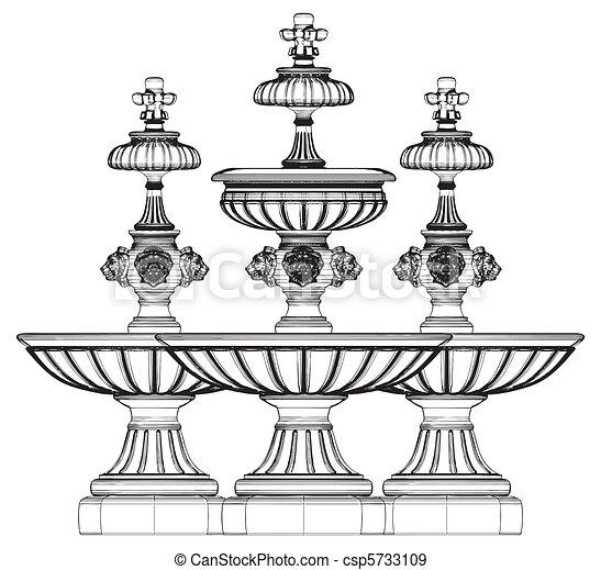 Classic Fountain - csp5733109