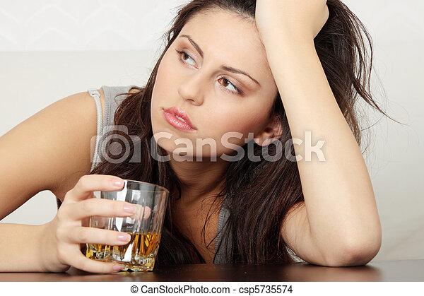 Alcohol addicted - csp5735574