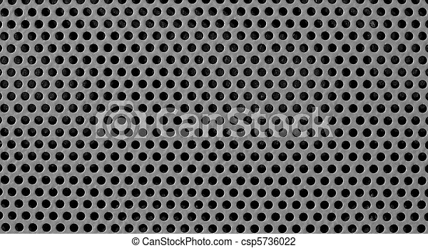 gray industrial grid background - csp5736022