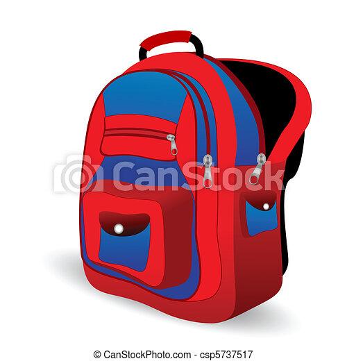 Bookbag Vector Clipart EPS Images. 52 Bookbag clip art vector ...