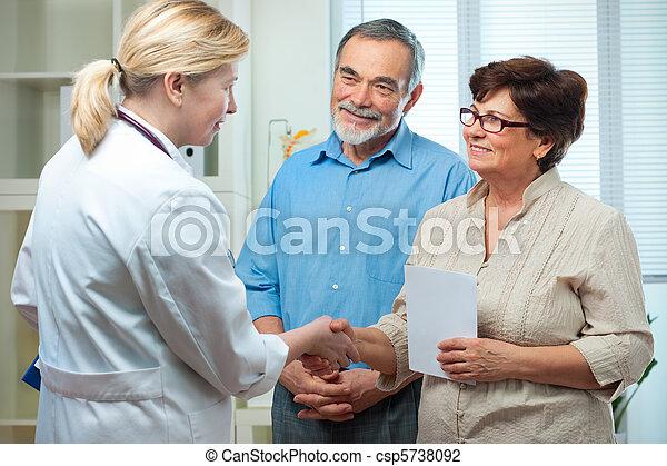 medico, esame - csp5738092