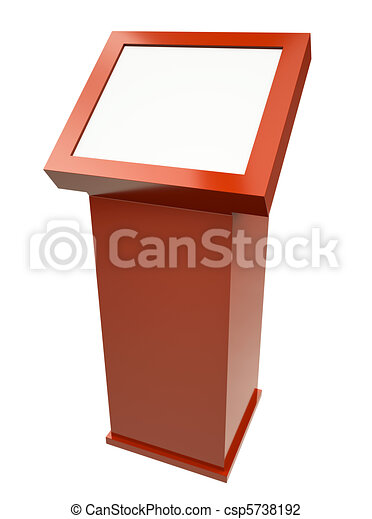 Touch screen terminal - csp5738192