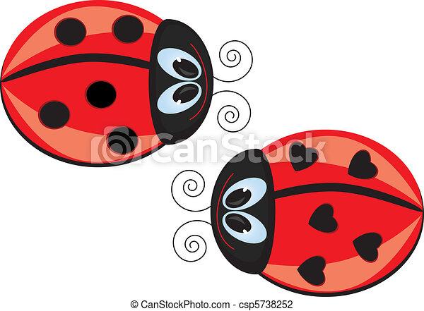 Ladybugs  - csp5738252