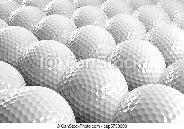 Golf balls - csp5738300