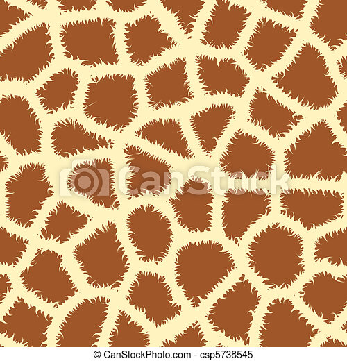 Seamless animal print - csp5738545
