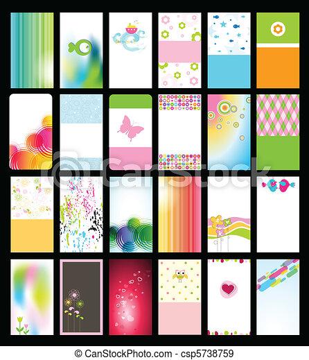 Business card - csp5738759