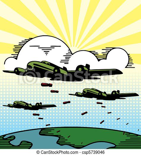 Military Planes - csp5739046