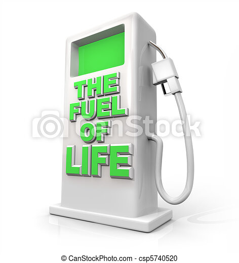 The Fuel of Life - Gasoline Pump for Refueling - csp5740520