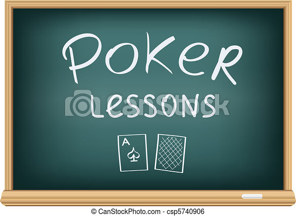 poker lessons in school - csp5740906