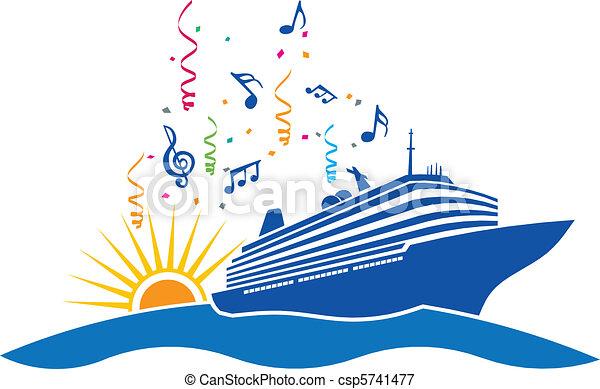 Party cruise - csp5741477