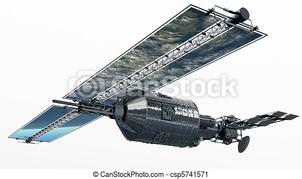 Telecommunication Satellite - csp5741571