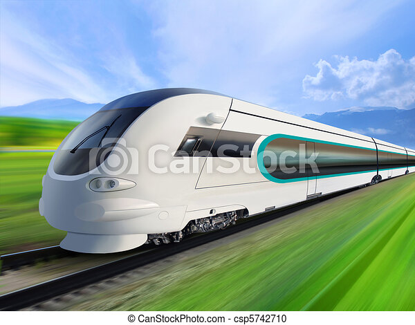 super streamlined train - csp5742710