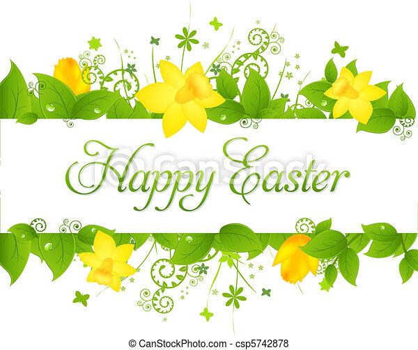 Happy Easter - csp5742878