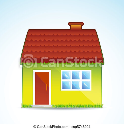 sweet cottage - csp5745204