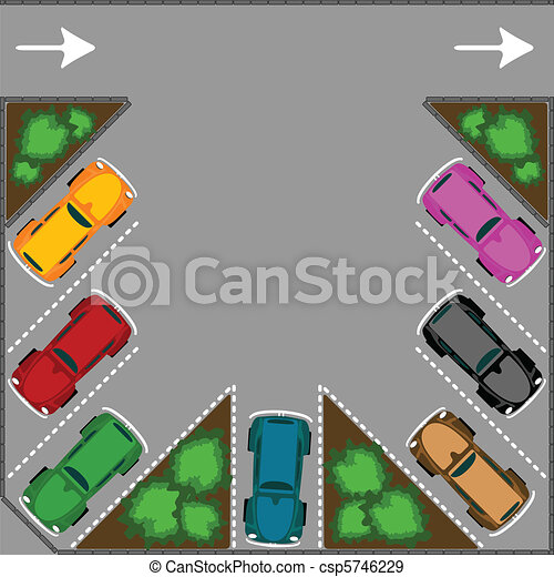 parking for cars - csp5746229