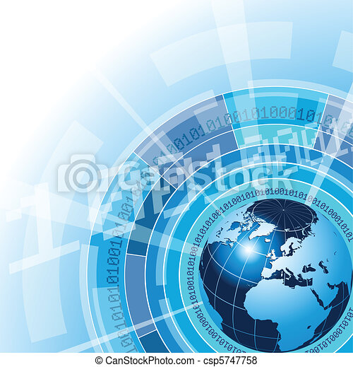 Global Communication Concept - csp5747758