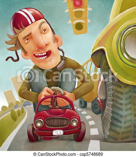 Car and Driver - csp5748689