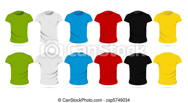 Colorful Male T-Shirt - csp5749034