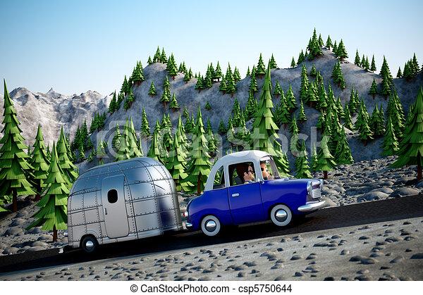 Road Trip - csp5750644