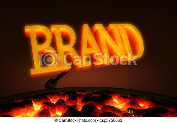 Branding Iron - csp5750663