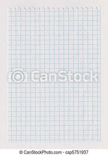 Checked notebook sheet - csp5751937