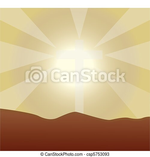 background sunlight - csp5753093