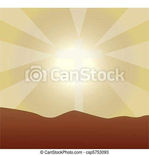 background sunlight - csp5753093
