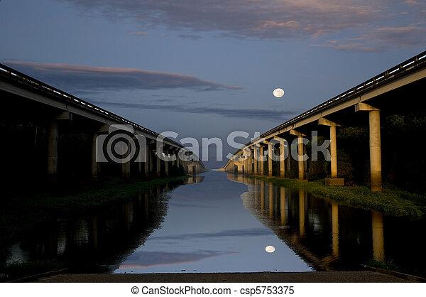 Bridges Across the River - csp5753375