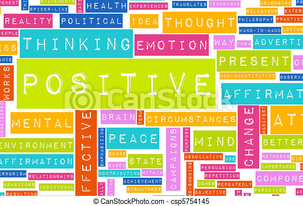 Thinking Positive - csp5754145