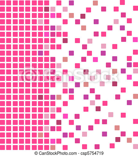 Pink mosaic background - csp5754719