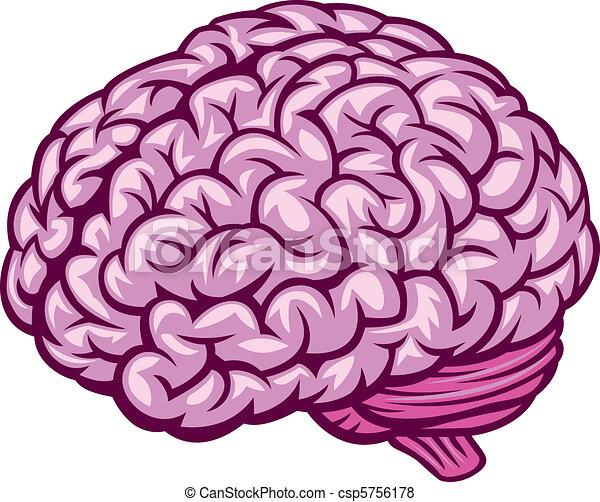 Cartoon smart brain